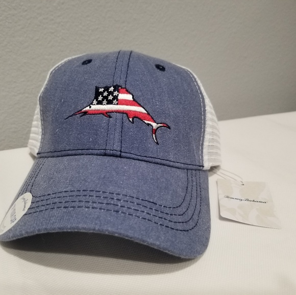 8420dbc1 Tommy Bahama Accessories | Tip Your Cap New American Flag Hat | Poshmark